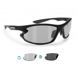 P676FTA Photochromic Polarized Motorcycle Sunglasses