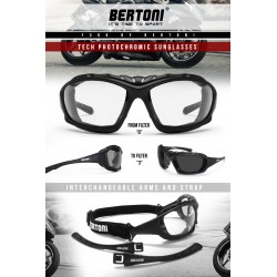 F366A Photochromic goggles with Strap