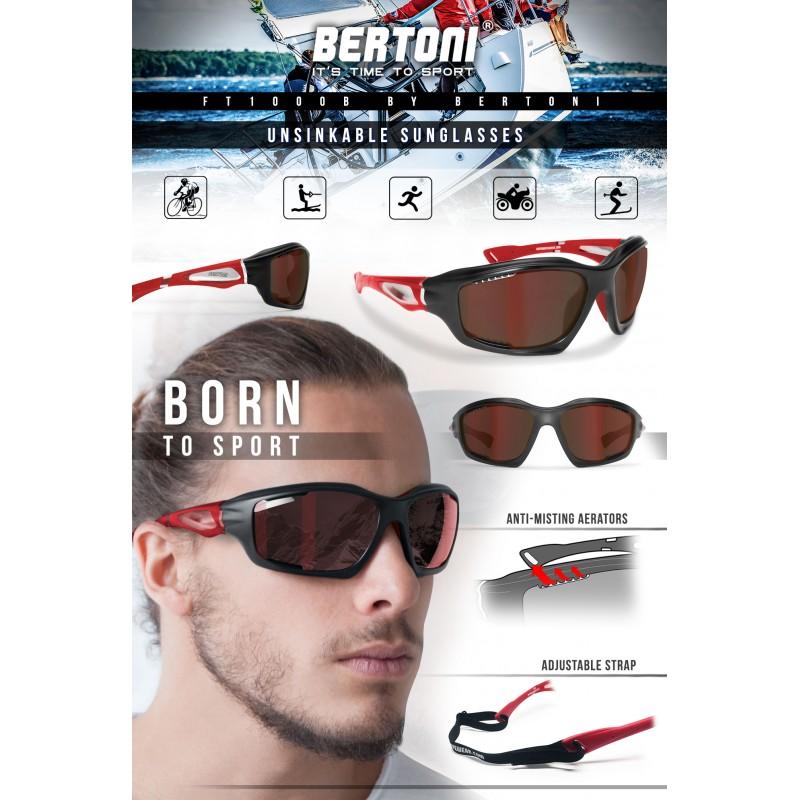 motorradbrille sonnenbrillen sportbrille ft1000b bertoni italy. Black Bedroom Furniture Sets. Home Design Ideas