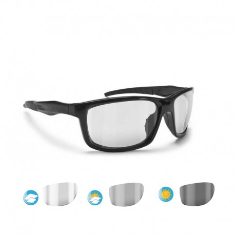 occhiali moto Fotocromatici ALIEN F01