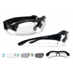 Photocrhomic Motorcycle Sunglasses F399A