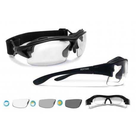 Photocrhomic Motorcycle Sunglasses F399A