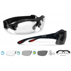 Photocrhomic Motorcycle Sunglasses F399D