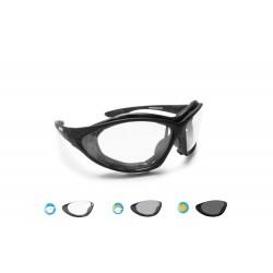 Occhiali Moto Fotocromatici con Elastico F333 Bertoni