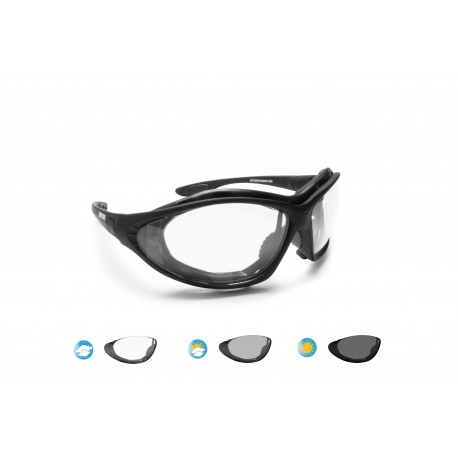 Photochromic Motorcycle Sunglasses F333