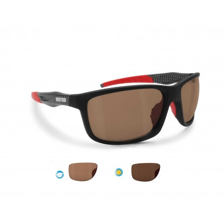 ALIEN PFT03 Photochromic Polarized Motorcycle Sunglasses