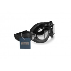 AF193L Motocycle Leather Goggles