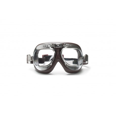 Motocycle goggles AF193CRB front view