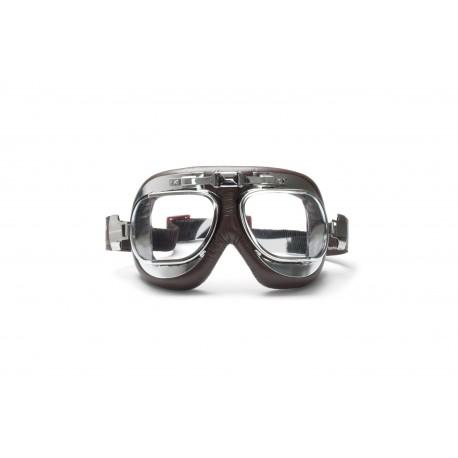 Motorradbrille Schultzbrille AF193CRB Vorderansicht