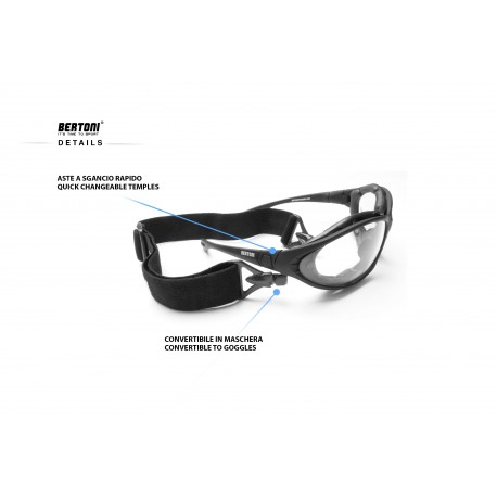 details Motorcycle goggles FT333B