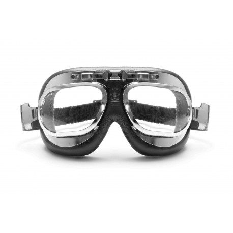 Motorradbrille Schultzbrille AF191CRB Vorderansicht