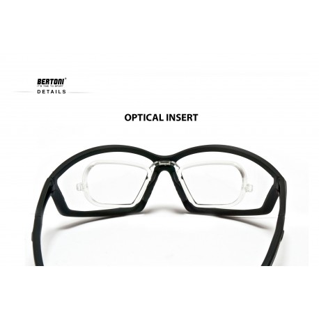 optical insert Antifog motorcycle sunglasses AF100B