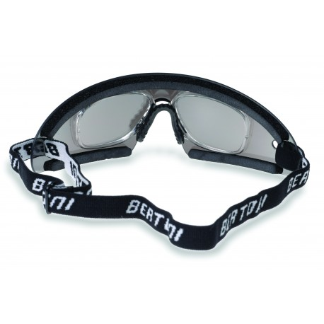 motorcycle sunglasses antifog with optical insert detail AF79A