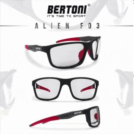 Photocromatischen motorradbrille ALIEN F03