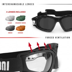 AF120B Multilens Goggles