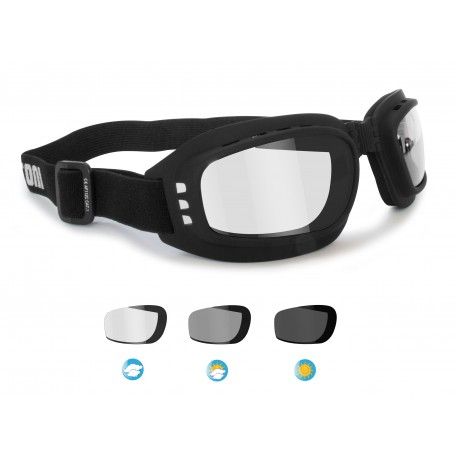 Photochromic motorcycle Goggles F112A