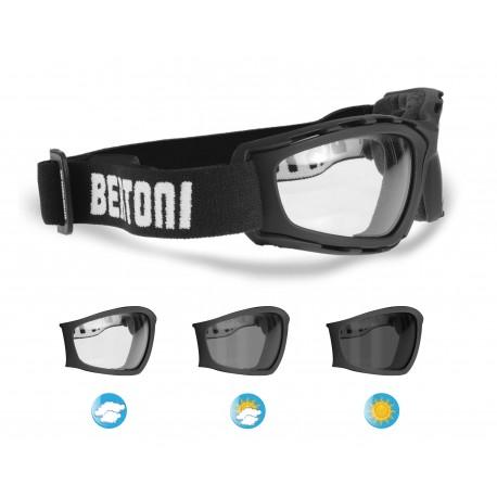 occhiali moto Fotocromatici F120A