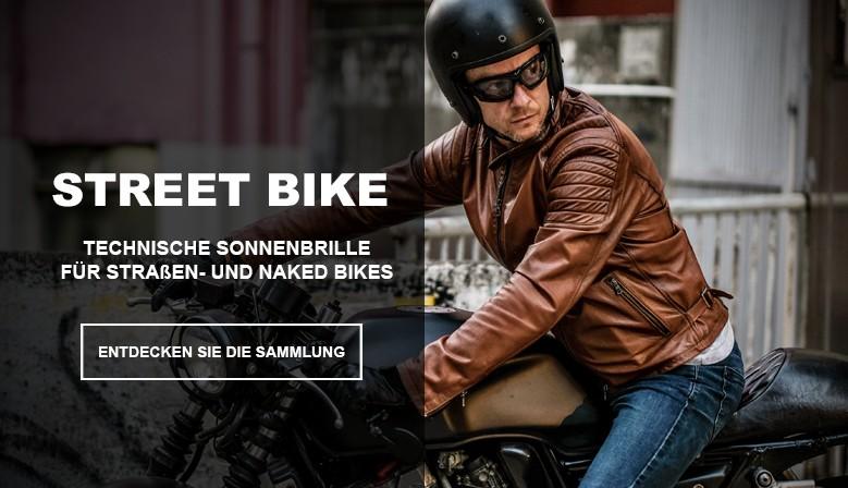 Motorradbrillen und naked brillen