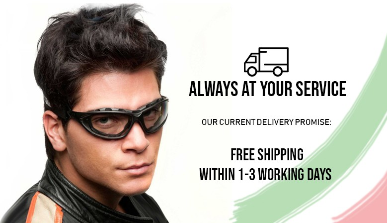 Always at your service - Our current delivery promise: shipment within 1-3 working days